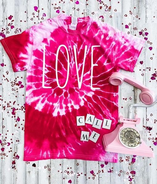 Tie Dye LOVE Graphic Tee