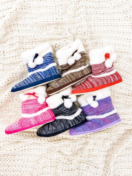 Mystery Indoor slipper booties