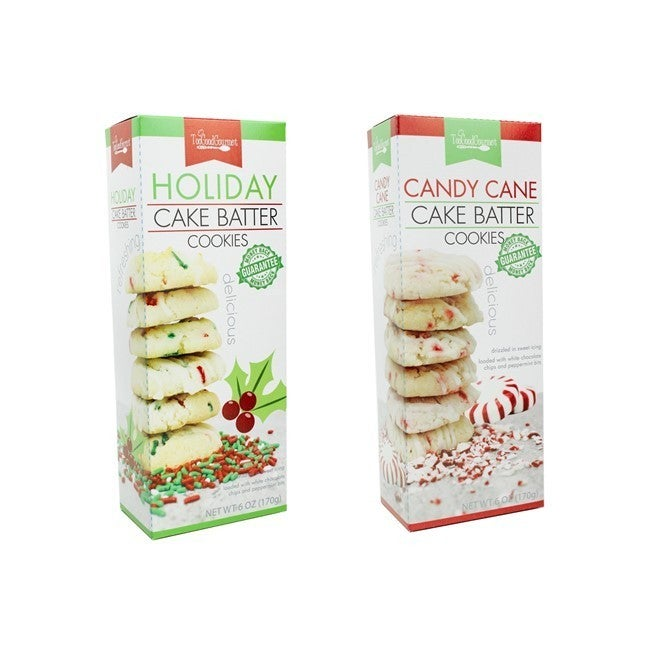 Holiday Cake Batter Cookies (Multiple Flavors)