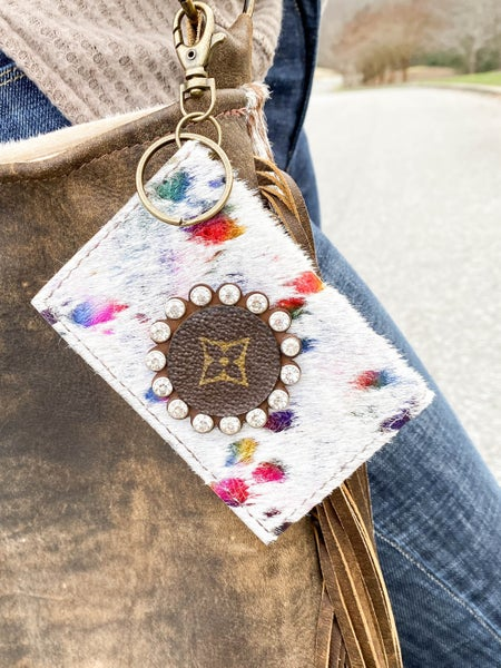 Keep it Gypsy Upcycled LV Mini Wallet (Multiple Options)