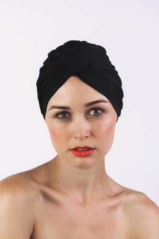 Black or Lemon Amelie Shower Cap