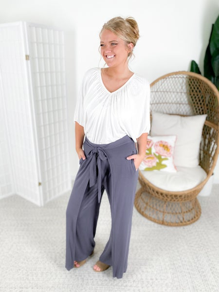 Layered Knitted Culottes (Multiple Colors)