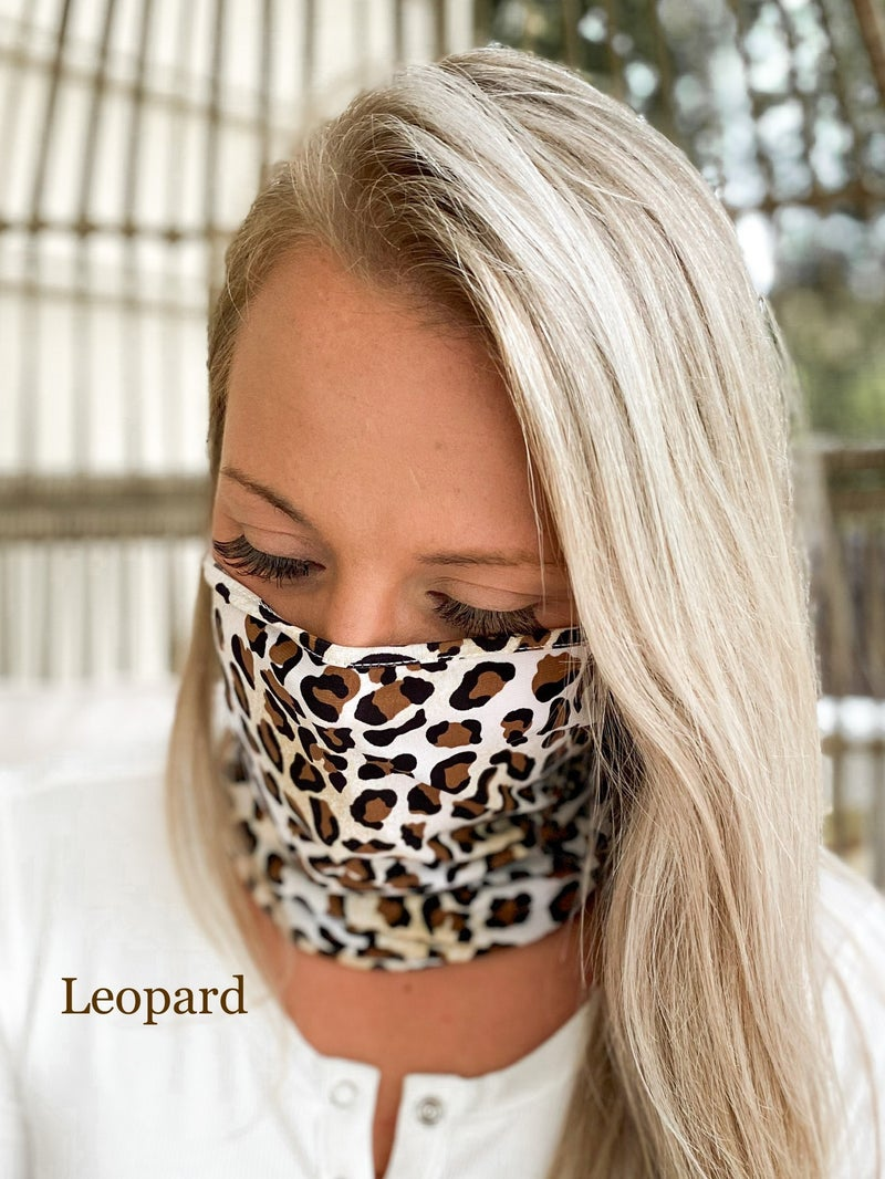 Fabric Face Cover (Multiple Colors)