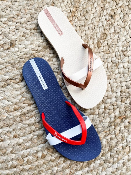 Ipanema Cross Strap Flip Flop (Multiple Colors)