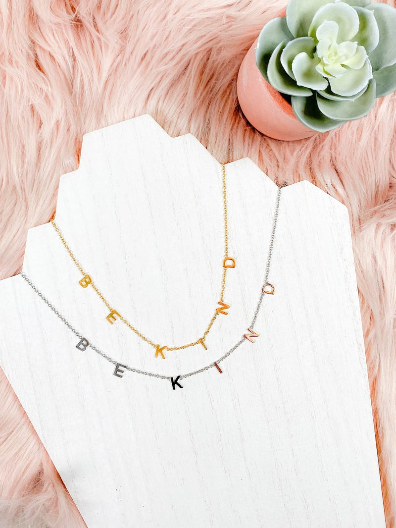 """""""Be Kind"""" Necklace (Multiple Options)"""