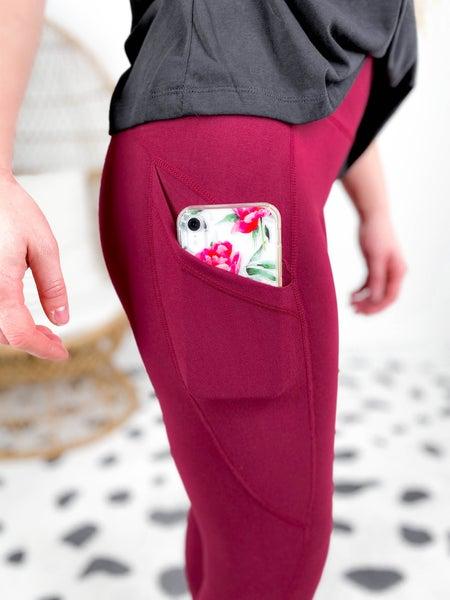 PLUS/REG Yoga Leggings with Pockets (Multiple Colors)