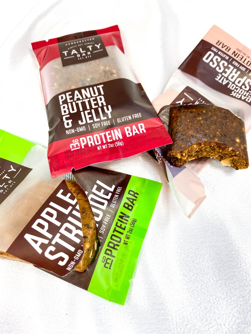 Talty Protein Bars (Multiple Flavors)