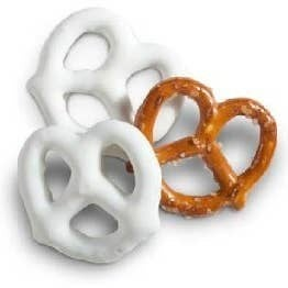 Pocketsnak White Frosted Pretzels