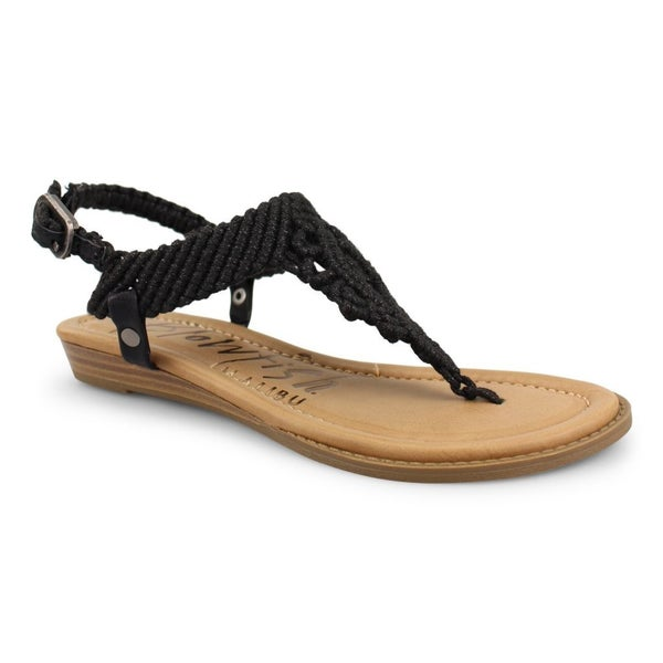 Blowfish Macrame Sandals