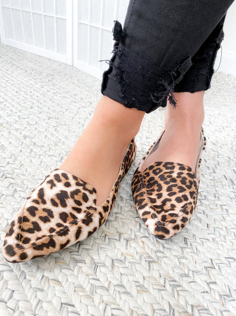 Rollasole Animal Print Pointed Loafer (Multiple Options)