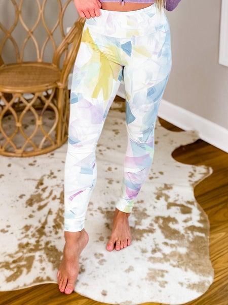 Tie Dye High Waist Leggings