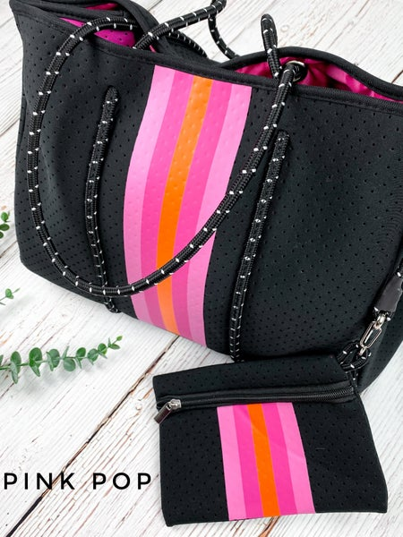 Neoprene Bags!! All the rage y'all!!!!!