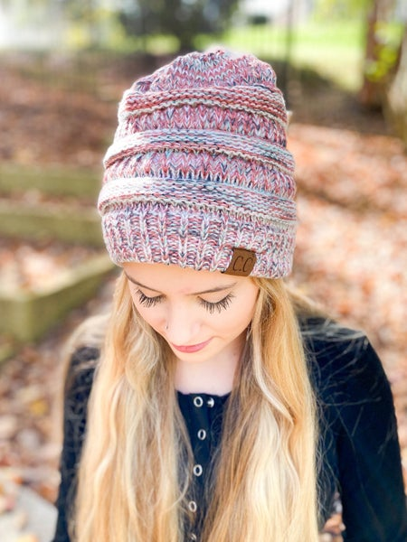 CC Multicolor Beanie (Multiple Colors)