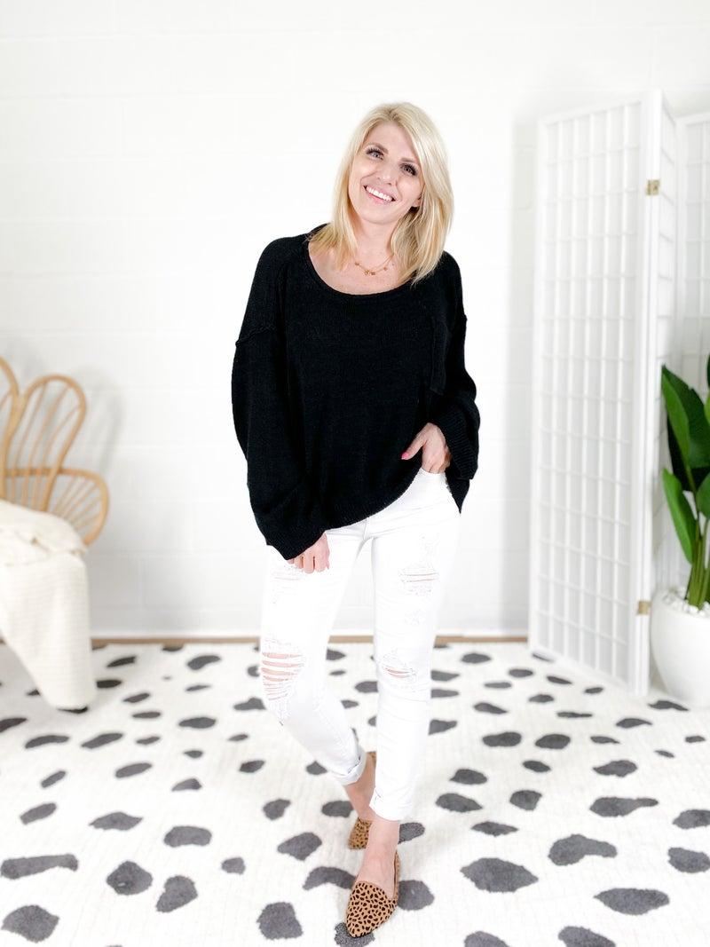PLUS/REG Judy Blue White Tiger Distressed Skinny Jeans