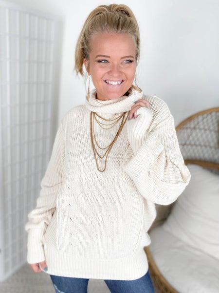 Door Buster! Zenana Luxe Turtleneck Sweater (Multiple Colors)