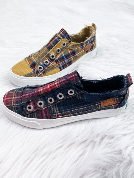Blowfish Campus Plaid Sneaker (Multiple Colors)