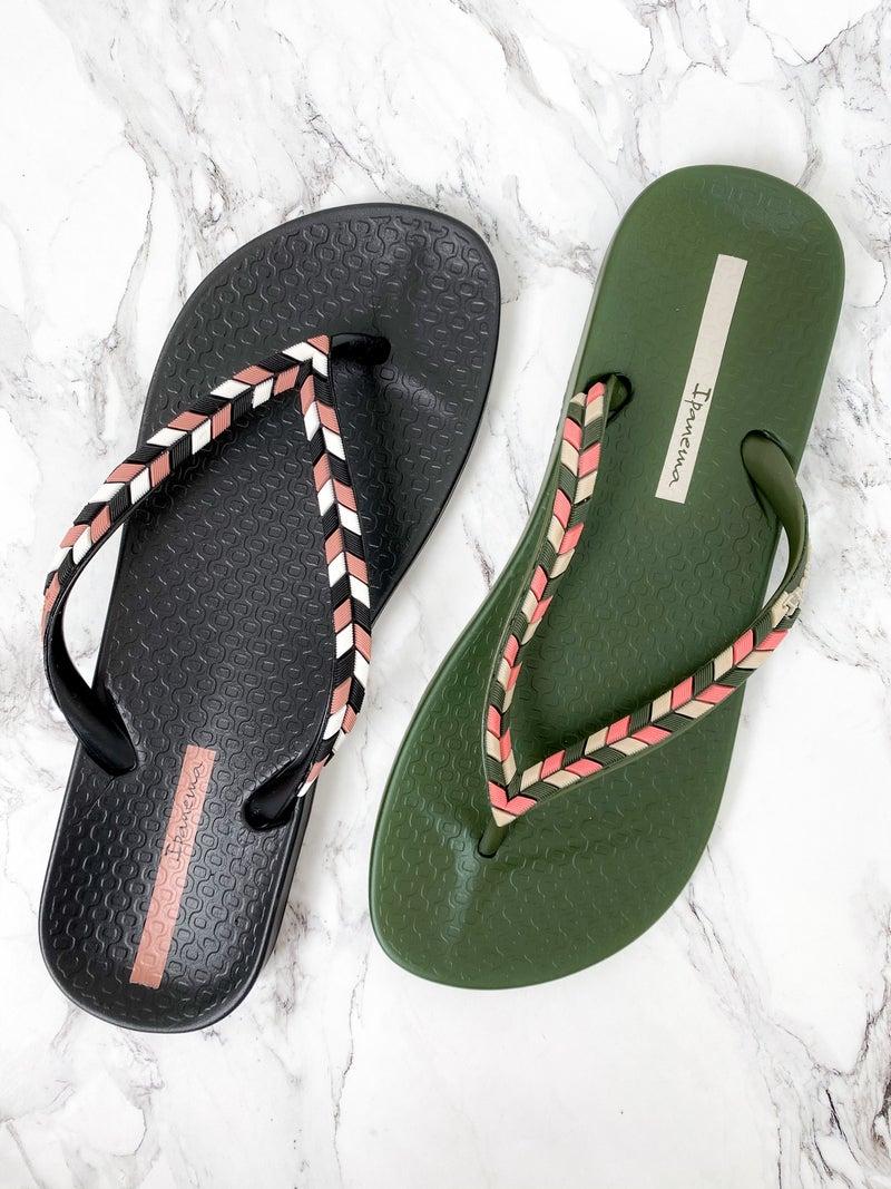 Ipanema Colorful Braid Sandals (Multiple Colors)