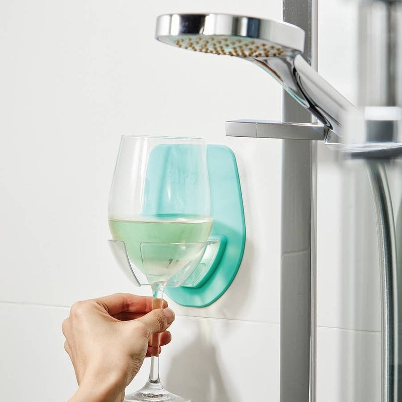 Sipski Bath Wine Glass Holder (Multiple Colors)