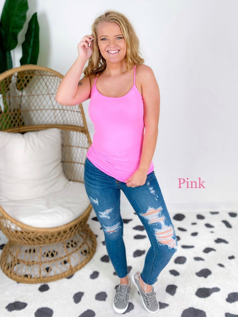 NEON Seamless Tunic Cami (Multiple Colors)