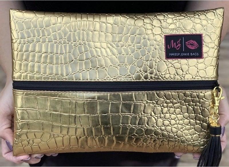 Gold Gate-r Makeup Junkie Bag (Multiple Options)