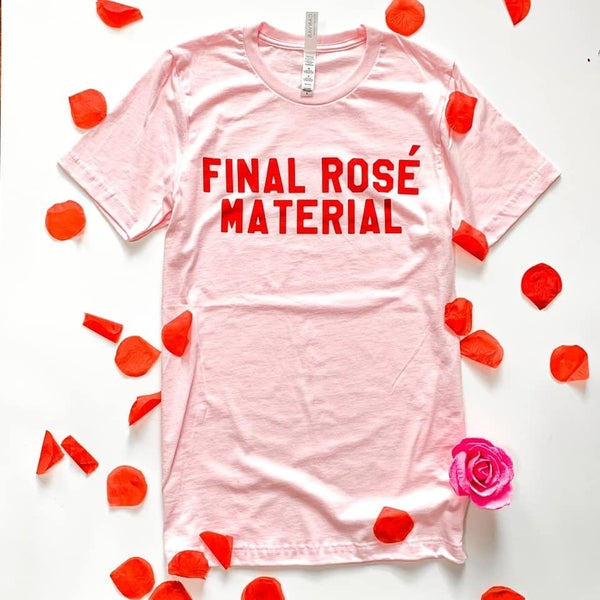 Bachelor Final Rose Graphic Tee