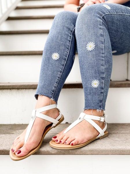 Open Toe Sandals (Multiple Colors)