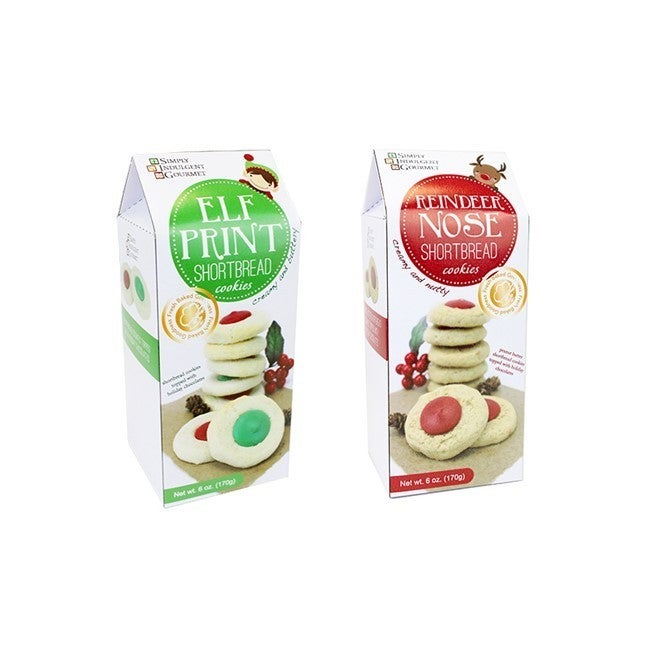 Candy-Topped Christmas Shortbread Cookies (Multiple Options)