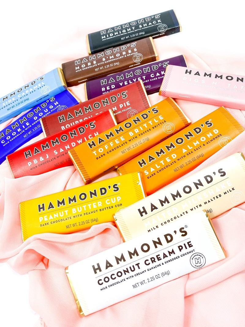 Hammond's Candy Bars (Multiple Flavors)