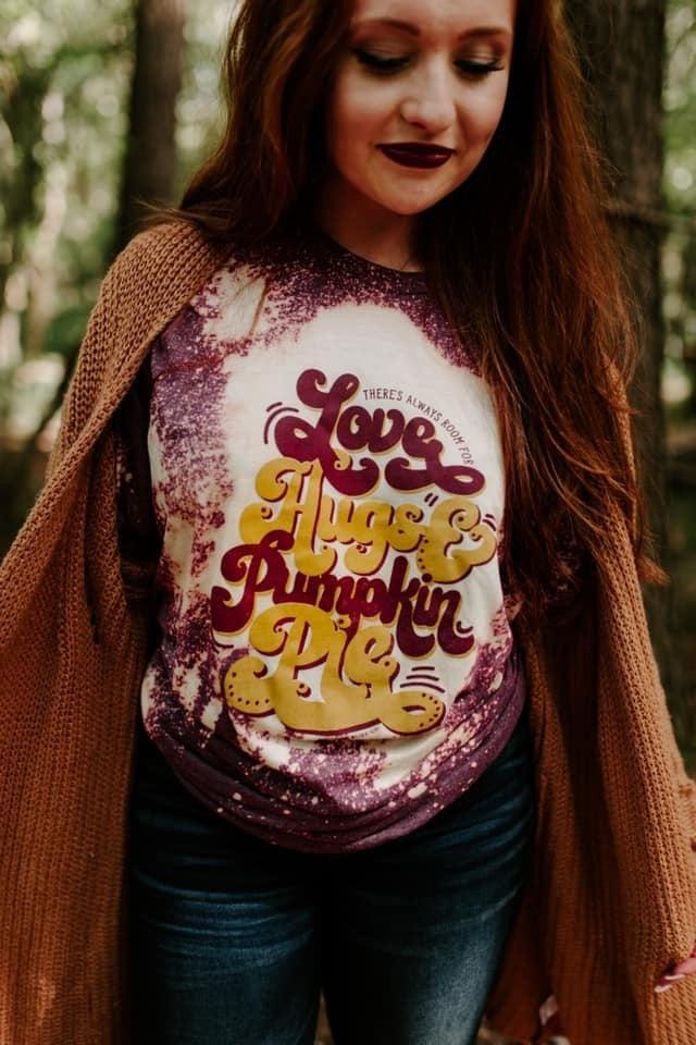 Love Hugs and Pumpkin Pie