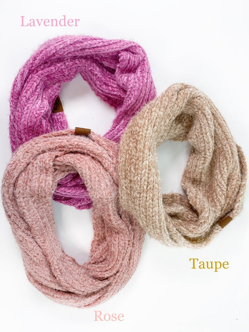 CC Super Soft Infinity Scarf (Multiple Colors)