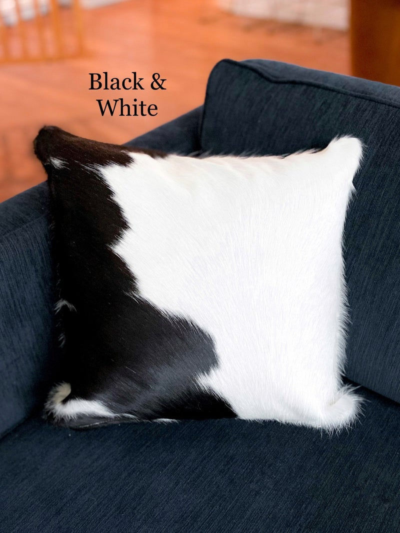 Cow Hide Pillows (Multiple Options)