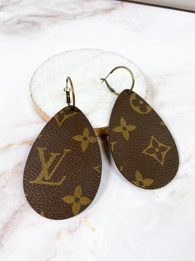 Keep it Gypsy LV Teardrop Earrings