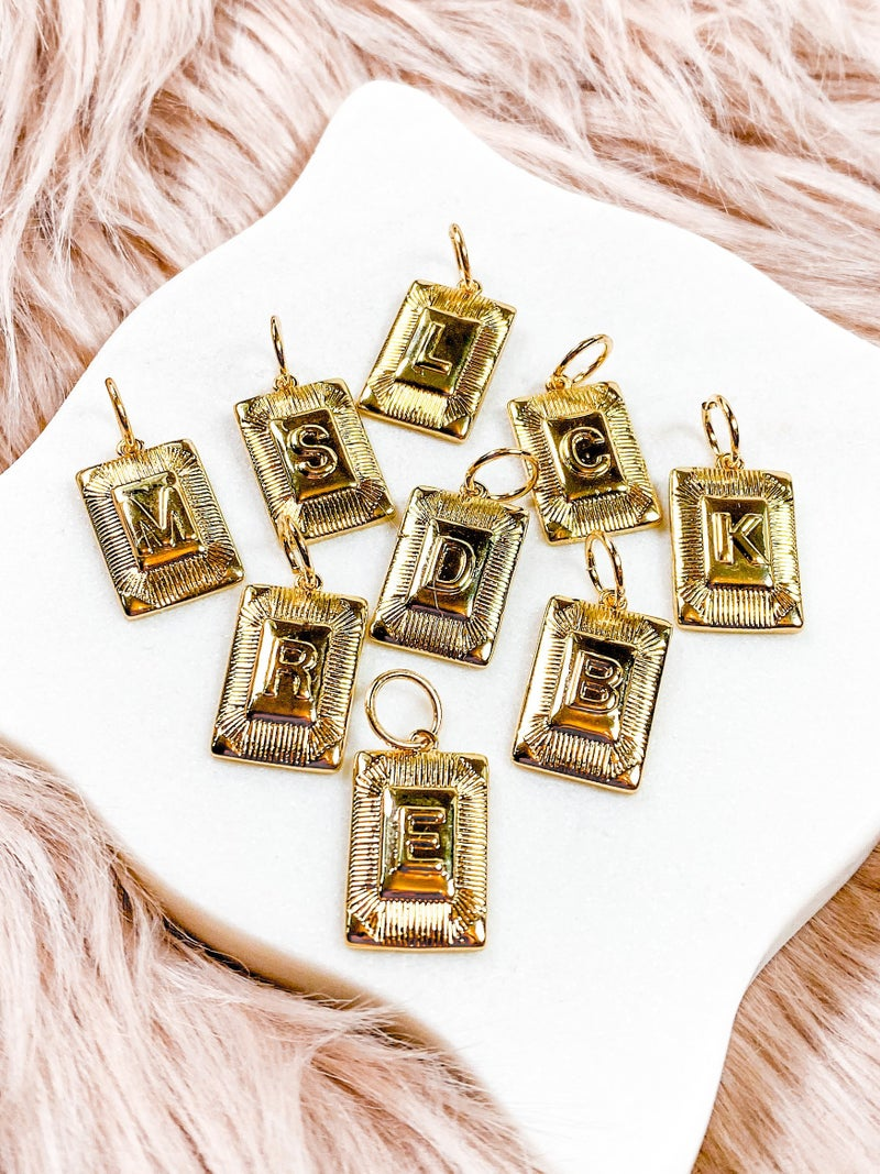 Karli Buxton Initial Charms (Multiple Options)