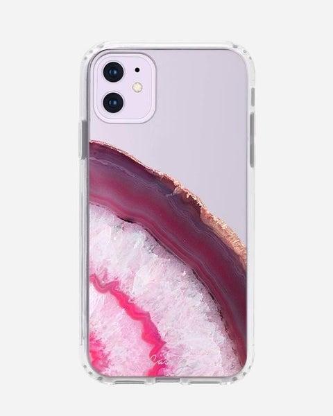Cranberry Agate iPhone Case