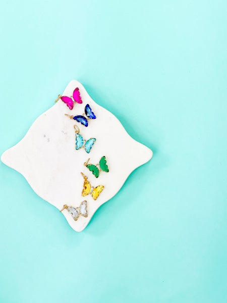 Karli Buxton Butterfly Charm (Multiple Colors)