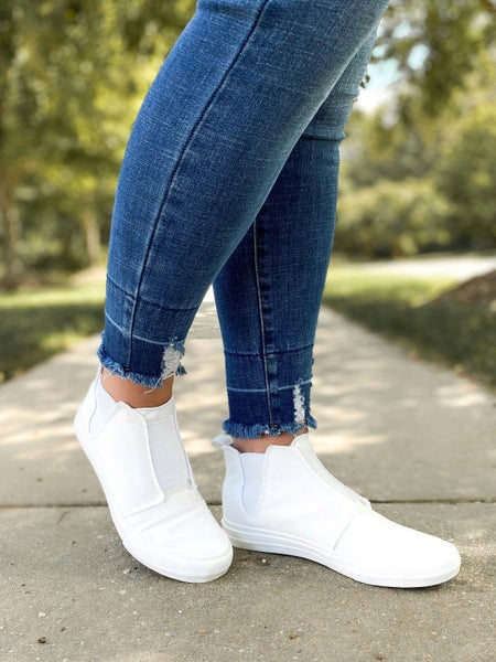 Very G White High Top Sneaker