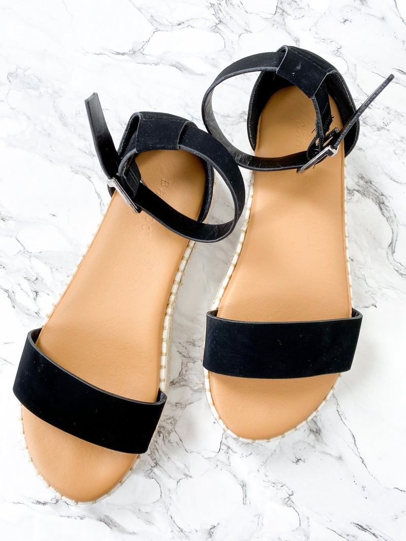 Espadrille Platform Sandal (Multiple Colors)