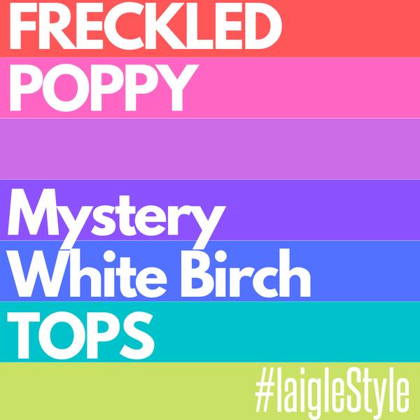 White Birch Mystery TOP!!!!!!!!!!!!!!!!