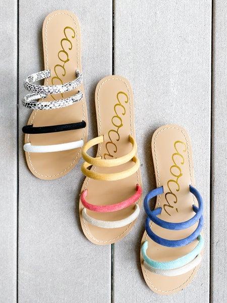 Multi Strap Sandal (Multiple Colors)