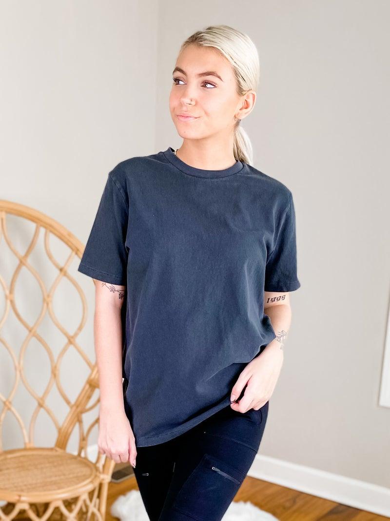 Men's Solid Short Sleeve Tee Shirt (Multiple Colors)
