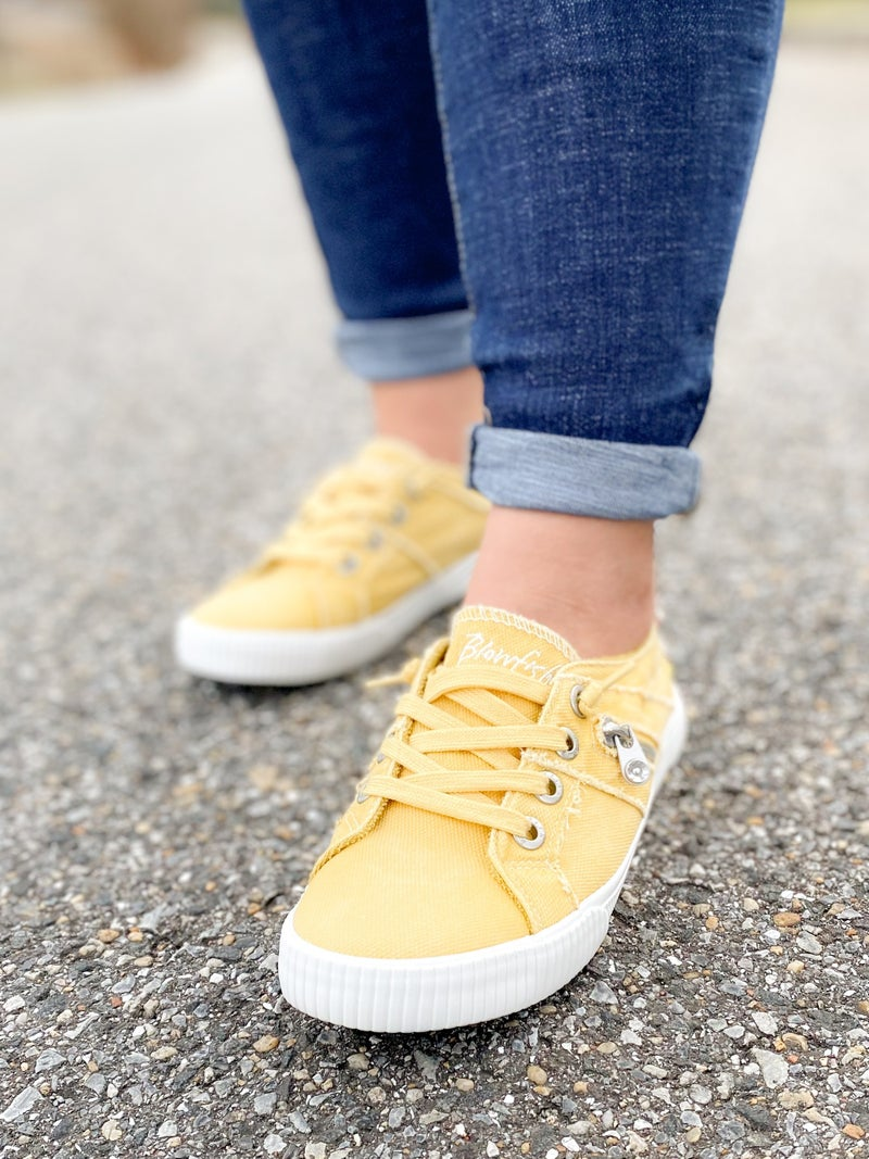 Blowfish Bamboo Canvas Slip On Sneakers