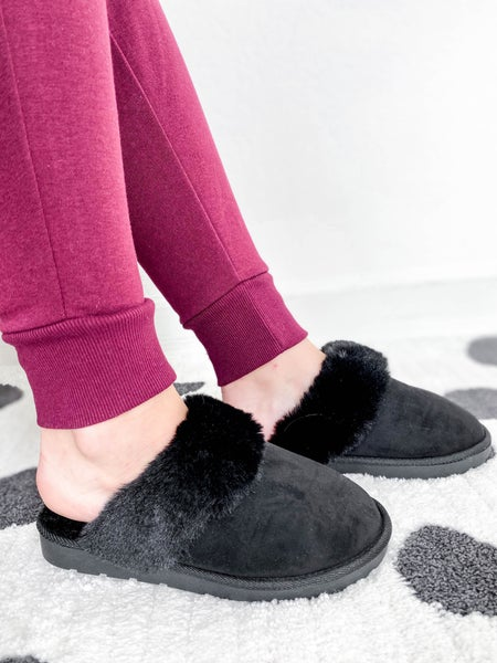 Cozy Faux Fur Slippers (Multiple Colors)