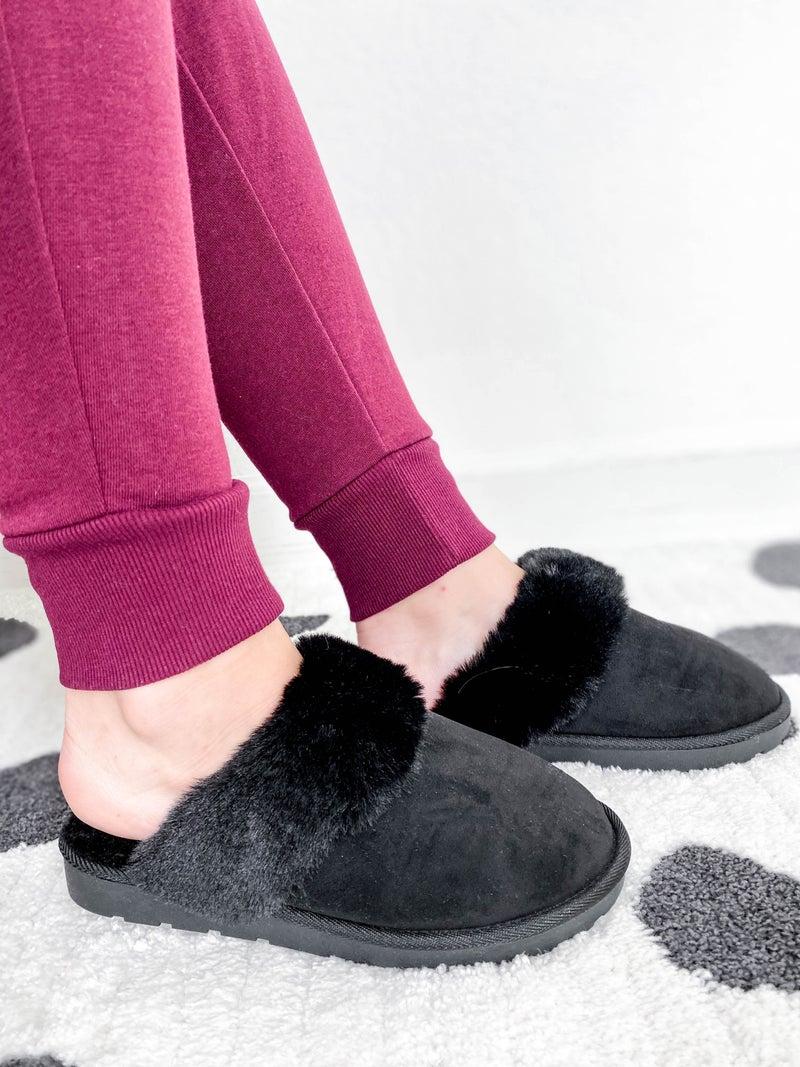 Cozy Faux Fur Slippers (Multiple Colors)