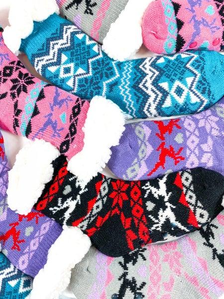 POPPY DAY Mystery Kids Christmas Socks