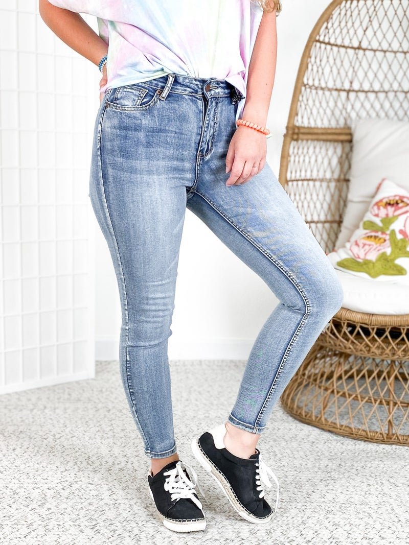 Hammer City Girl High Rise Non-Distressed Jeans