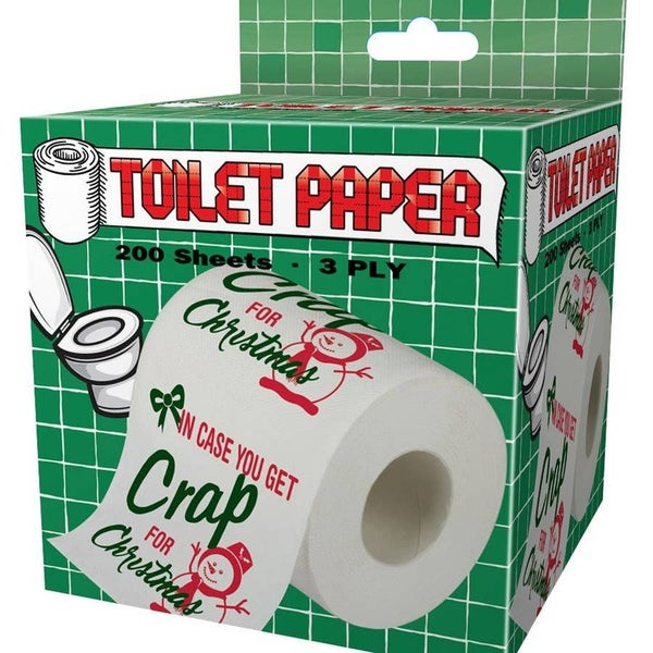 Crap For Christmas Toilet Paper