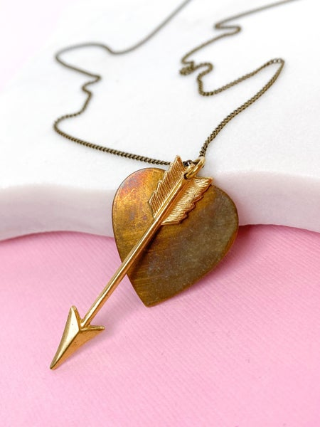 RESTOCKED!! Tainted Heart Necklace
