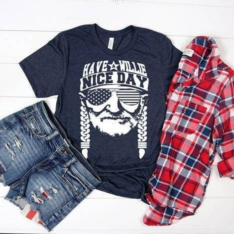 Willie Nice Day Graphic Tee