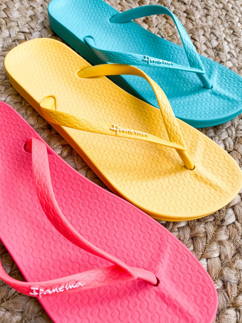 DOORBUSTER Ipanema Bright Basic Flip Flops (Multiple Colors)