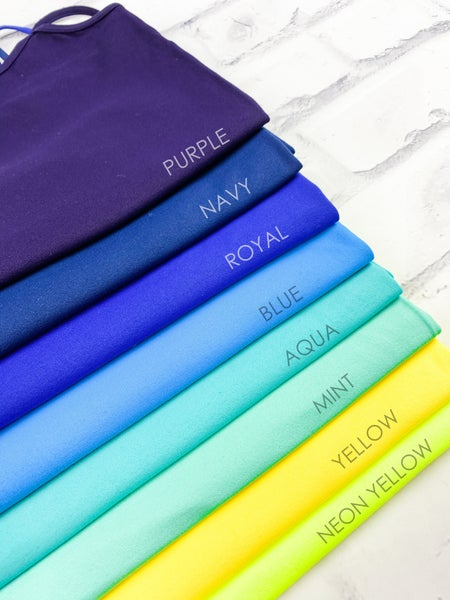 Seamless Long Cami Slip (Multiple Colors)